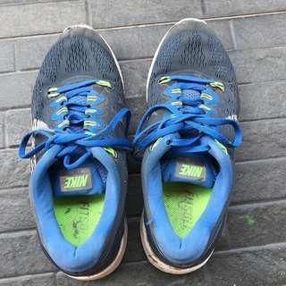 Sepatu olahraga nike (blue) #MauiIphoneX