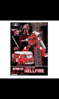 Maketoys inferno transformers