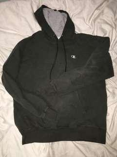 Size M Forest Green Champion Hoodie
