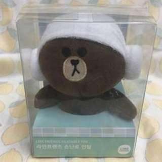 包順豐 Line熊大公仔 (可加熱作暖手器)
