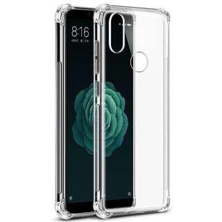 🚚 Xiaomi A2 Anti Dust and Drop Clear Silicon Case