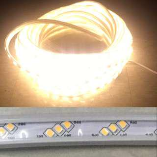 LED Strip 220V warm white