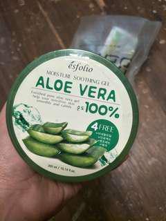 AUTH ESFOLIO Aloe vera gel