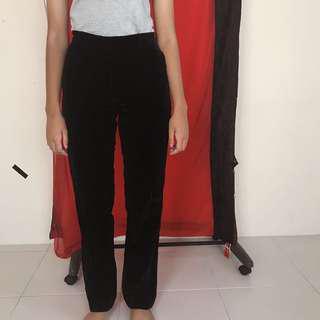 APC Highwaisted Velvet Pants