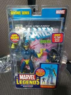 Toy Biz Marvel Legends Sentinel Series - Cyclops (not DC, Marvel Legends, NECA, HOTTOYS)