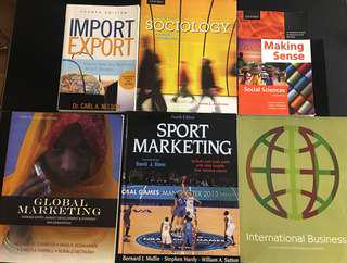 Ryerson Business Management/Sociology Books