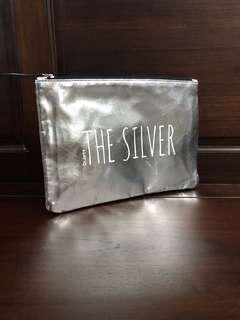 The Silver Make up Bag