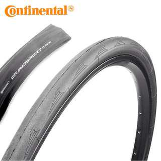Continental 700c tire Grand Sport Race road bike tire 700c x 23,25,28 C - Foldable , Black