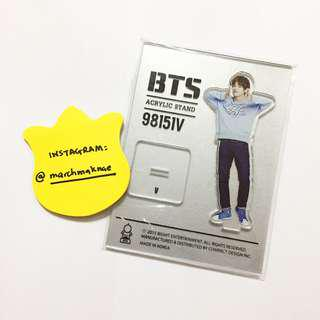 BTS 2ND MUSTER ZIPCODE: 17520 Official Goods - Acrylic Standee V