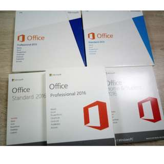 Microsoft office pro plus 2016 windows 10 home pro, Electronics