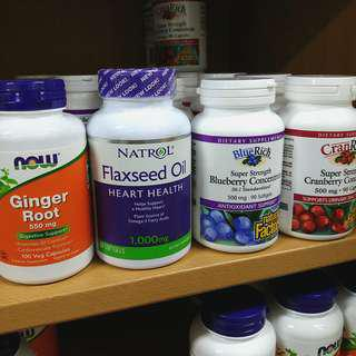 Branded Dietary Supplements from USA