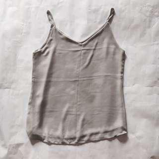 Basic Grey Spag Top