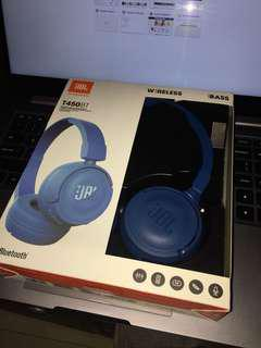 JBL Wireless Headphones T450BT (Blue)