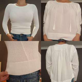 Witchery girl 2 pieces shirt top size12