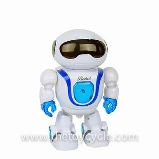 🚚 Funny Dancing Robot with Music Light