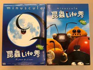 昆蟲Life 秀DVD 1~6集