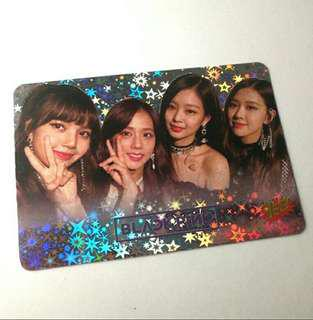 BLACKPINK SHINING PHOTOCARD#MY1212