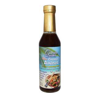 Coconut Secret The Original Coconut Aminos Soy-Free Seasoning Sauce 8 fl oz (237 ml)