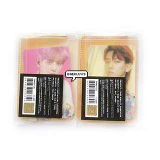 EXO Kokobop / The War Official Card Wallet + Photocard