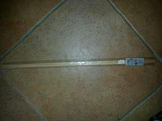 Wood stick 7.5mm thick 600in length (square) 4 packets 8 wood sticks