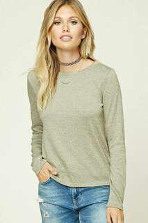 Forever 21 Knit Long sleeve top