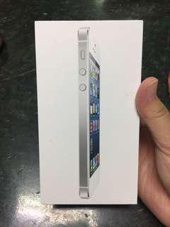 🚚 Iphone5原廠盒