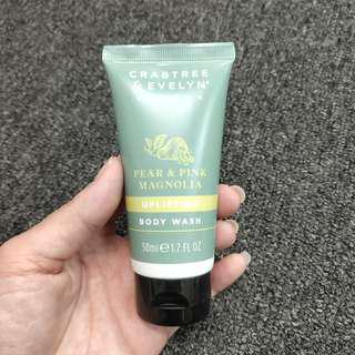 Crabtree & Evelyn London Pear And Pink Magnolia Body Wash 50ml