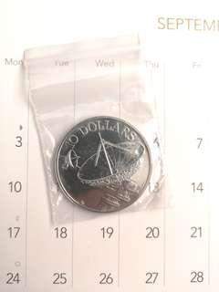 Sattelite $10 copper nickel coin