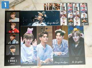 Wann One Fanmade Paper Slogans and Stickers