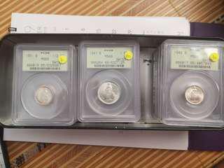 Switzerland coins silver swiss francs