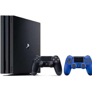 Sony PlayStation 4 Pro Console 3 Items Bundle