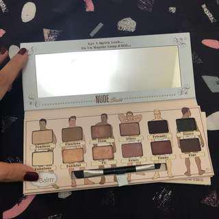 The Balm Nude Dude Volume II Eyeshadow Palette