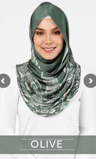 KL Duckscarves olive