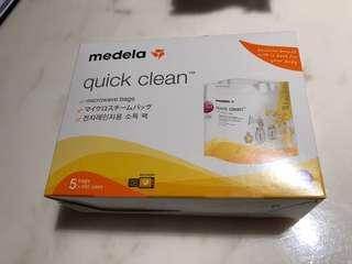 全新Medela 微波爐消毒袋一盒