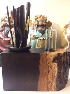 天然黑檀木茶具茶道套裝