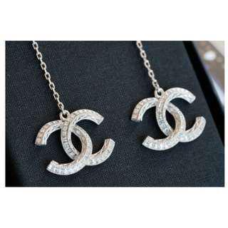 Chanel A45625 earrings CC 水晶垂墬耳環 現貨180911