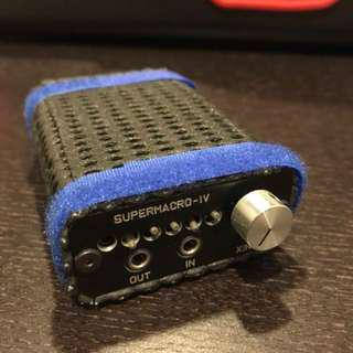 Retro Xinfeng Portable Amp SuperMacro-IV (4xAAA Batt)