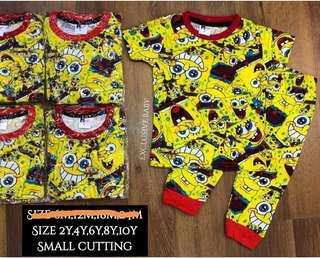 Printed pyjama spongebob
