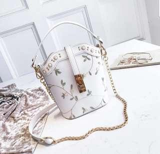 Floral Embroidered Luxury Sling Bag