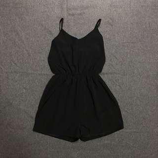 Black playsuit jumpsuit
