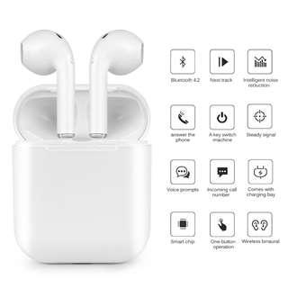 *2018 EDITION* The Newest i9s Mini AirPods With Charging Case