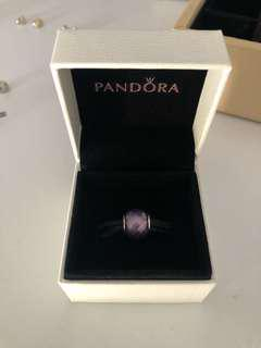 Pandora Purple Faceted Charm