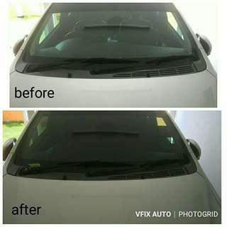 Car Tinted Install