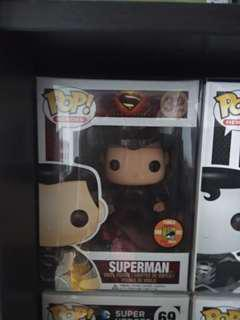 Funko Pop Superman vinyl figurine