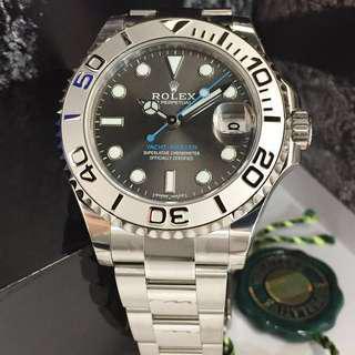(🔥全場最平🔥)💯%全新Rolex Yacht-Master 268622 勞力士遊艇名仕自動機械腕錶37mm