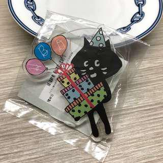 🆕Ne-net ネ・ネット Happy Birthday brooch 生日 胸針 心口針 扣針