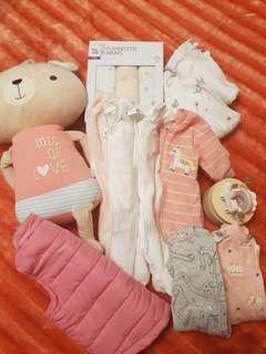 Baby bulk 23 Items Incl Post.