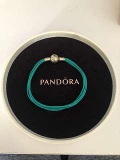 Pandora Teal Thread Bracelet