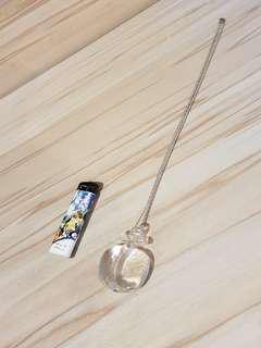 Resin Apple Pendant Titanium Chain Necklace #MauiPhoneX