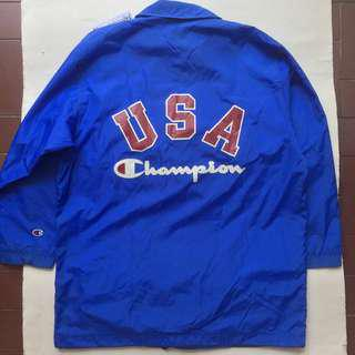 CHAMPION windbreaker jacket biru